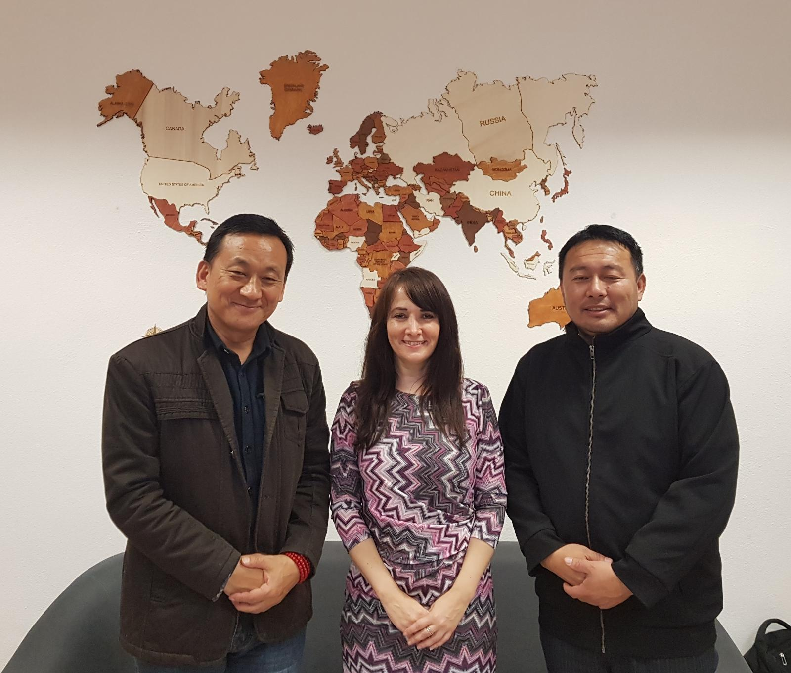 Bhután návšteva z univerzity