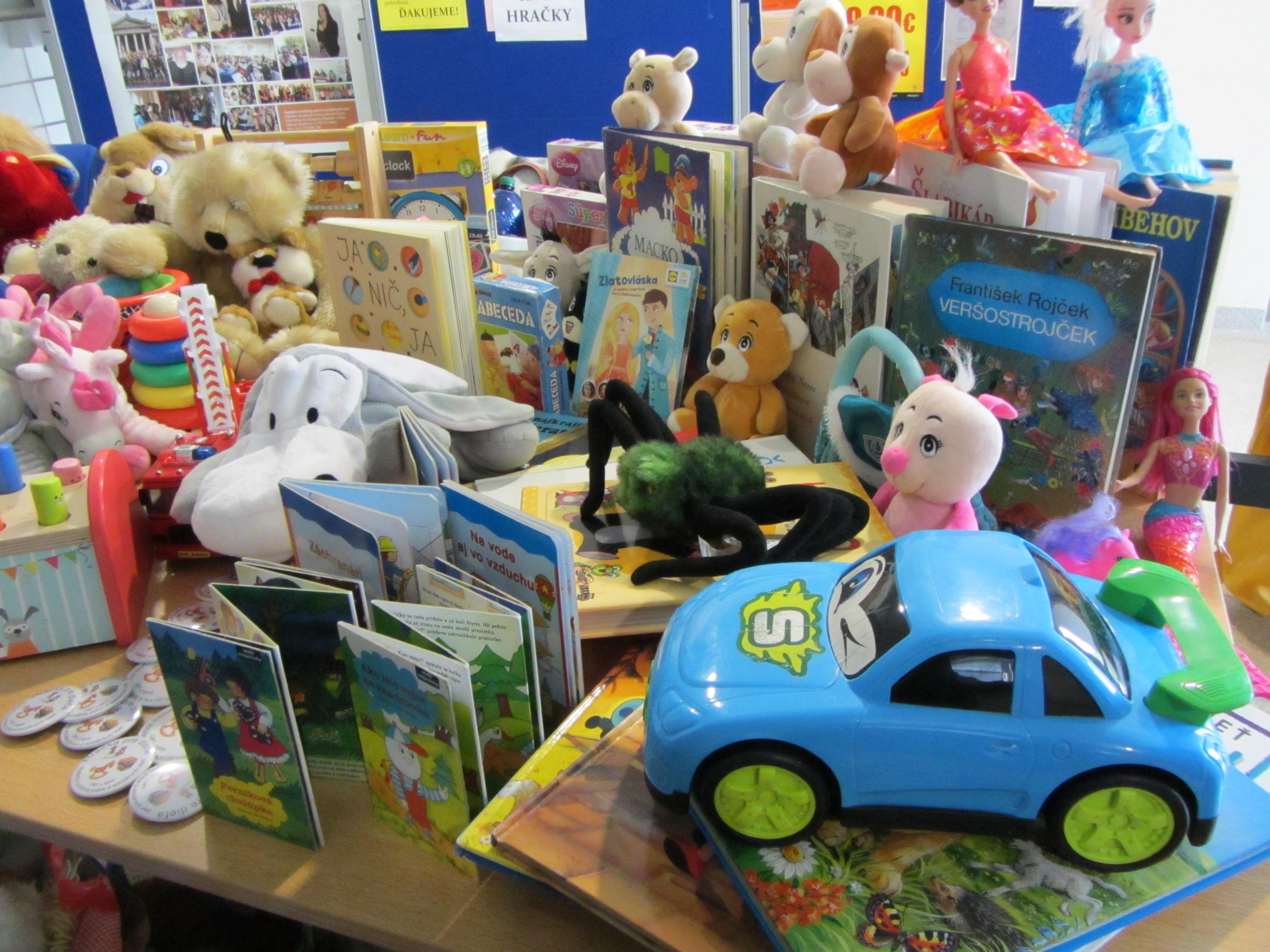 charitatívna zbierka Hračka pre dieťa