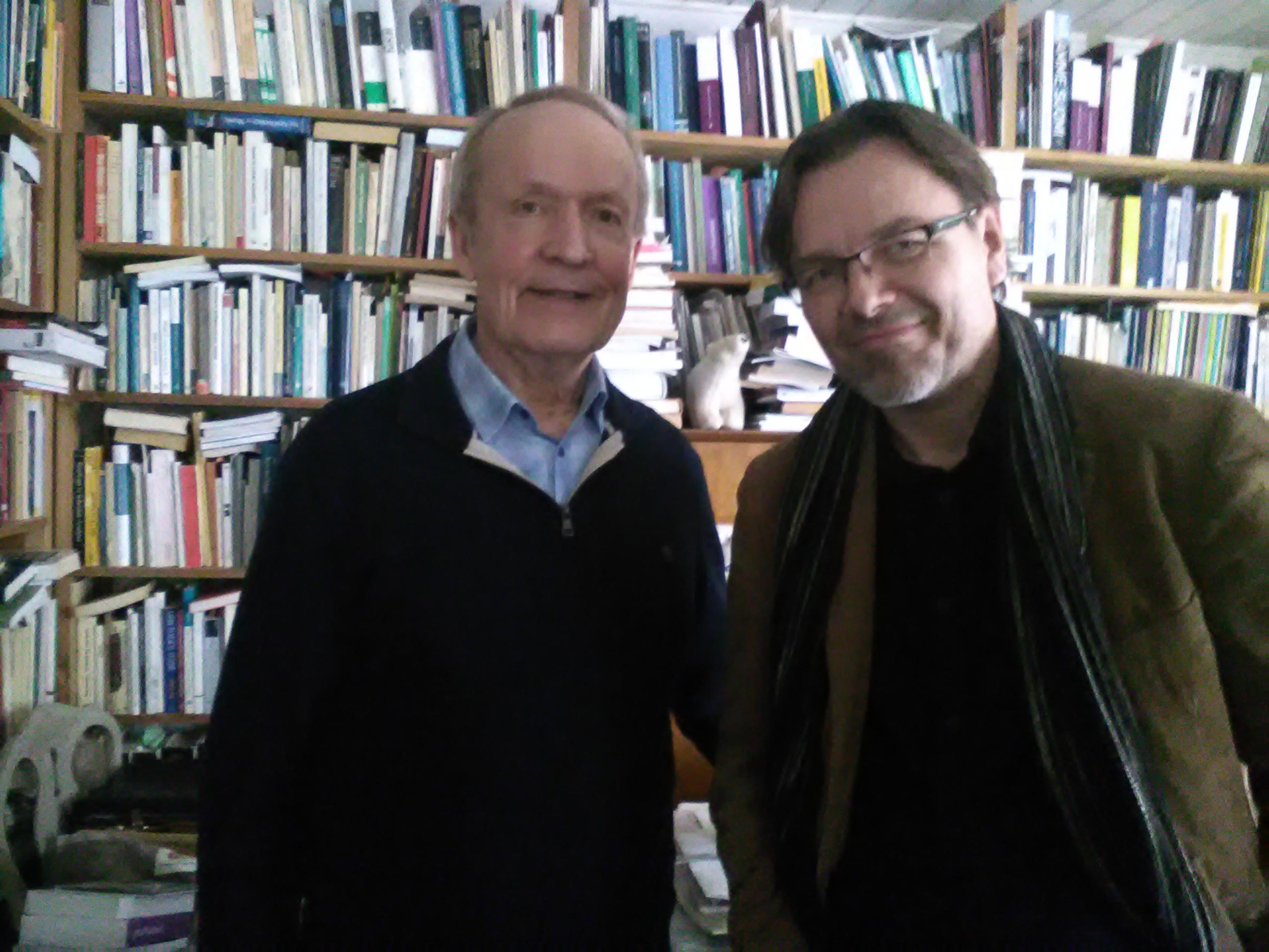 prof. Fujak s prof. Tarastim