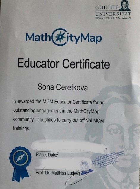 momatre certifikat