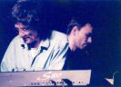 Záber z koncertu v Nitre roku 2001 – Marián  Varga (syntetizátor) a Július Fujak (klavír). FOTO L. Wojciechowski