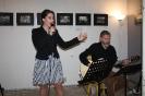 Brigita Tarinová spievala v sprievode Štefana Haládika.