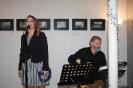 Brigita Tarinová zaspievala v sprievode Štefana Haládika.